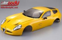 Body - 1/10 Touring / Drift - 195mm - Scale - Finished - Box - Alfa Romeo TZ3 Corsa - Yellow