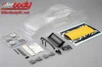 Body - 1/10 Touring / Drift - 195mm - Scale - Clear - Lancia Stratos (1977 Giro d'Italia)