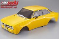 Body - 1/10 Touring / Drift - 195mm - Scale - Finished - Box - Alfa Romeo 2000 GTAm - Yellow