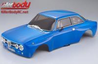 Body - 1/10 Touring / Drift - 195mm - Scale - Finished - Box - Alfa Romeo 2000 GTAm - Blue