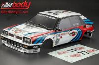 Body - 1/10 Touring / Drift - 195mm - Scale - Finished - Box - Lancia Delta HF Integrale 16V - Racing