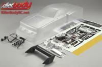 Body - 1/10 Touring / Drift - 195mm - Scale - Clear - Lancia Beta Montecarlo (1981LM & 1979 Giro d'Italia)