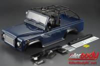 Body - 1/10 Crawler - Scale - Finished - Box - Marauder - Dark Blue - fits Axial SCX10 Chassis