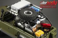 Pièces de carrosserie - Accessoires 1/10 - Scale - Boîte en plastique - 140x60x55mm