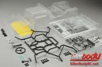 Body - 1/10 Crawler - Scale - Clear - Warrior - fits Axial SCX10 Chassis