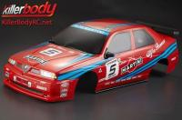 Body - 1/10 Touring / Drift - 195mm - Scale - Finished - Box - Alfa Romeo 155 GTA - Racing