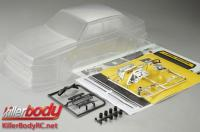 Body - 1/10 Touring / Drift - 195mm - Scale - Clear - Alfa Romeo 75 Turbo Evoluzione