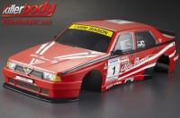 Body - 1/10 Touring / Drift - 195mm - Scale - Finished - Box - Alfa Romeo 75 Turbo Evoluzione - Racing