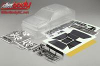 Body - 1/10 Touring / Drift - 195mm - Scale - Clear - Lancia Delta HF Integrale 16V