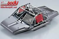 Body - 1/10 Short Course - Scale - Unique Cockpit - Finished