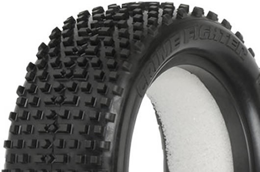 "Pro-Line - PL8219-02 - Tires - 1/10 Buggy - 4WD Front - 2.2"" - Crime Fighter M3"