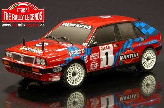 Rally Legends - EZRL2323/R - Body - 1/10 Rally - Scale - Painted - Lancia Delta Red