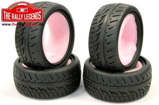 Rally Legends - EZRL3041 - Tires - 1/10 Touring - TMR 26mm (4 pcs)