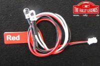 Replacement Part - Rally Legends - 5mm LED RED (2)