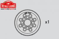 Replacement Part - Rally Legends - 72T Spur Gear