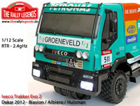 Car - 1/12 Electric - 4WD Truck - RTR - Iveco Trakker EVO 2 with lights
