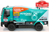 Car - 1/12 Electric - 4WD Truck - RTR - Waterproof ESC - Iveco Trakker EVO 2 with lights