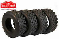 Tires - 1/12 Truck - Iveco Trakker (4 pcs)