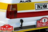Auto - 1/10 Electrique - 4WD Rally - RTR - Variateur étanche - Audi Quattro Sport Rally 1985