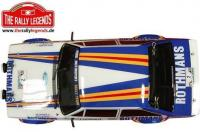 Car - 1/10 Electric - 4WD Rally - RTR - Waterproof ESC - Ford Escort RS 1800 1981