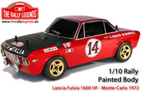 Body - 1/10 Rally - Scale - Painted - Lancia Fulvia 1600 HF MonteCarlo 1972