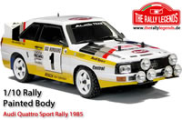 Body - 1/10 Rally - Scale - Painted - Audi Quattro Sport Rally 1985