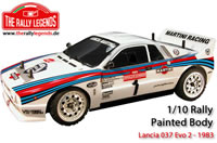 Body - 1/10 Rally - Scale - Painted - Lancia 037 EVO 2
