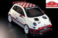 Auto - 1/10 Electrique - 4WD Touring - RTR - Abarth 500 Challenge