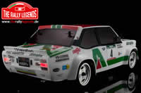 Car - 1/10 Electric - 4WD Rally - RTR - Fiat 131 Abarth 1978 Alitalia