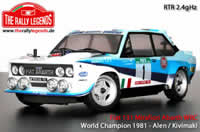 Car - 1/10 Electric - 4WD Rally - RTR - Fiat 131 Abarth 1978 WRC