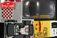 Body - 1/10 Touring - Scale - Clear - Abarth 500 with stickers and accessories