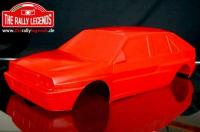 Body - 1/10 Rally - Scale - Painted - Lancia Delta Red
