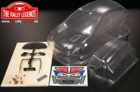 Car - 1/10 Electric - 4WD Rally - ARTR - Waterproof ESC - Ford Focus WRC McRae / Grist 2001 - CLEAR Body