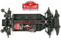 Car - 1/10 Electric - 4WD Rally - ARTR - Waterproof ESC - Audi Quattro Sport Rally 1985 - CLEAR Body