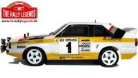 Car - 1/10 Electric - 4WD Rally - ARTR - Waterproof ESC - Audi Quattro Sport Rally 1985 - PAINTED Body
