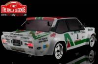 Car - 1/10 Electric - 4WD Rally - ARTR - Waterproof ESC - Fiat 131 Abarth 1978 Alitalia - PAINTED Body