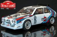 Car - 1/10 Electric - 4WD Rally - ARTR - Waterproof ESC - Lancia Delta S4 - CLEAR Body