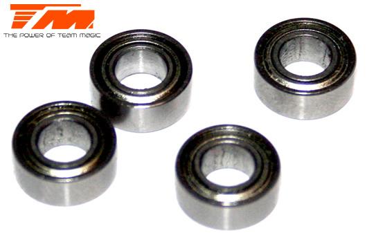 Team Magic - 150510ST - Ball Bearings - metric -  5x10x4mm (4 pcs)