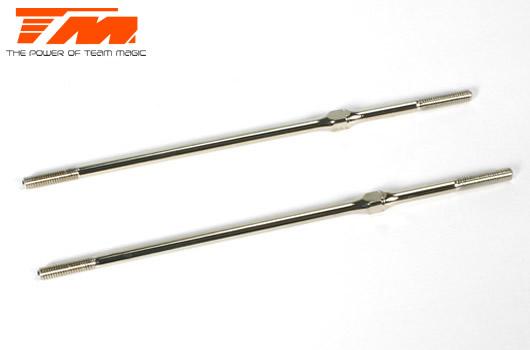 Team Magic - 1161310 - Adjustable Rod - Hardened - 3x100mm (2 pcs)