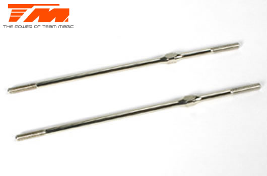 Team Magic - 1161311 - Adjustable Rod - Hardened - 3x110mm (2 pcs)