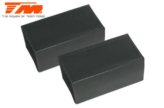 Team Magic - 115015 - Replacement Part - Rubber receiver battery holder (2 pcs)