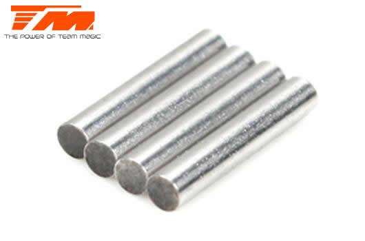 Team Magic - 507234-6 - Replacement Part - E4RS II EVO / E4RS III / E4RS4 - 1.5x8.5mm Pin for Nunchaku Driveshafts (4 pcs)