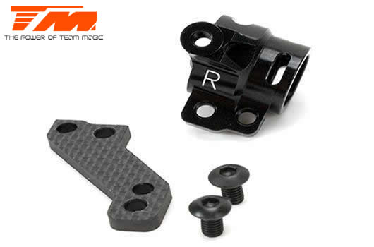 Team Magic - 507269 - Option Part - E4RS/JS/JR II / E4RS III / E4RS4 - Aluminum 7075 - Steering Block (Right)