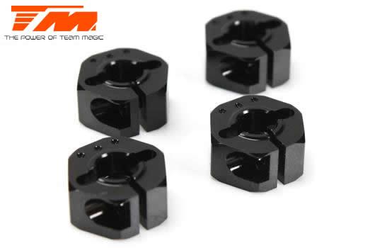 Team Magic - 507288 - Option Part - E4RS/JS/JR II / E4RS III / E4RS4 - Aluminum 7075 - Hex Wheel Adapter +1.50mm (4 pcs)