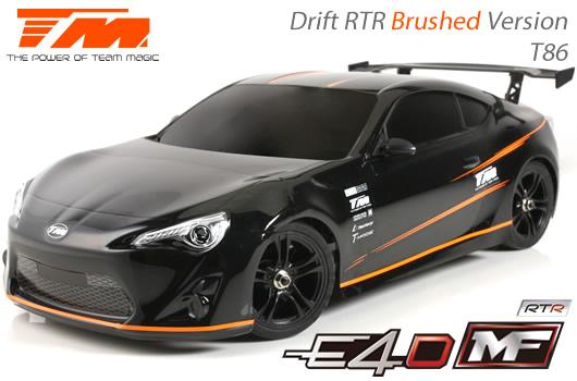 Team Magic - 503017-T86 - Car - 1/10 Electric - 4WD Drift - RTR - Team Magic E4D-MF - T86
