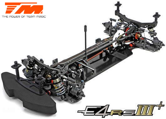 Team Magic - 507008 - Auto - 1/10 Elettrico - 4WD Touring - Competizione - Team Magic E4RS III PLUS kit