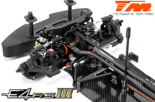 Auto - 1/10 Electrique - 4WD Touring - Compétition - Team Magic E4RS III PLUS Kit