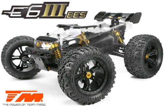 Team Magic - 505006 - Car - Monster Truck Electric - 4WD - ARR (no electronics) - Team Magic E6 III BES