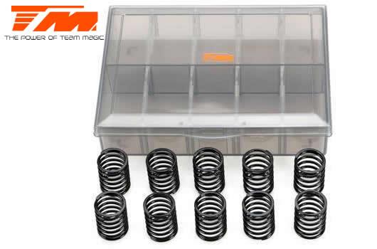 Ressorts d'amortisseurs - 1/10 Touring - PRO Progressive Set - 14x22.5x1.4mm (5 paires)