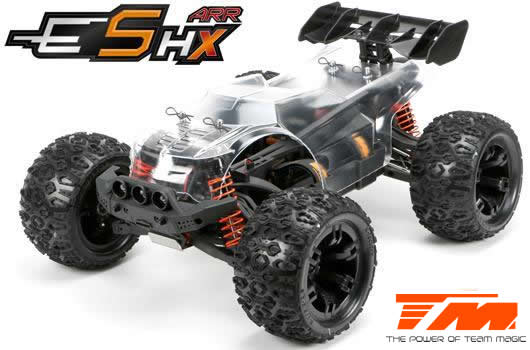 Team Magic - 510004 - Car - 1/10 Racing Monster Electric - 4WD - ARR - Team Magic E5 HX with option parts